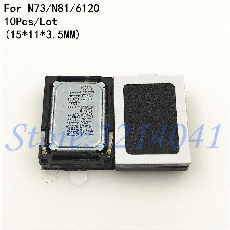 10 teile/los Buzzer Lautsprecher Ringer Für Nokia Lumia N73 N81 5320 5800 watt 6300 5800 E52 C5-03 6120 n958G 5230 N8 8950 5233