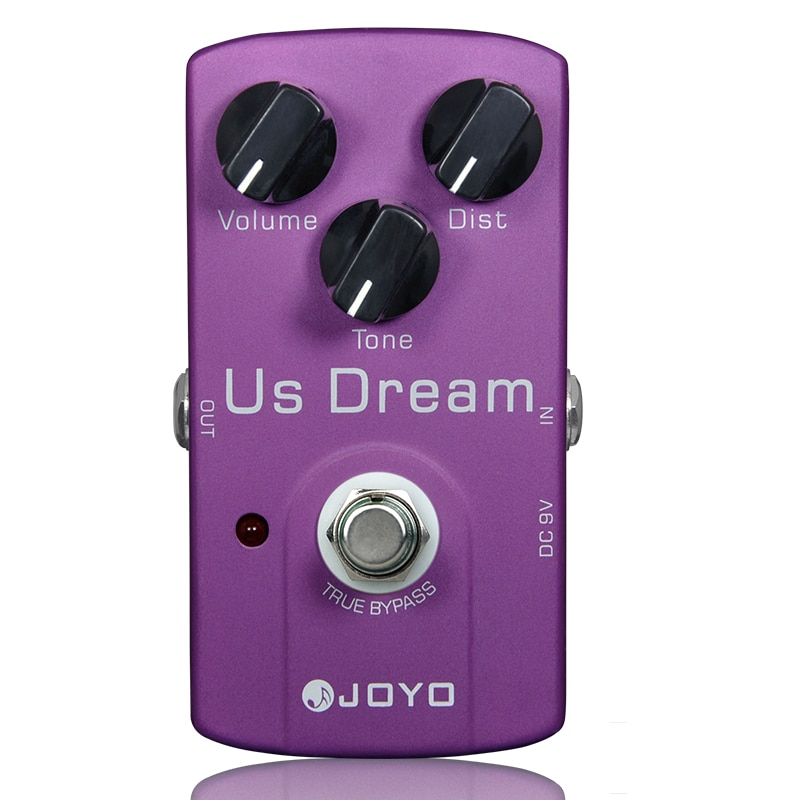 US Dream Distortion Guitar Effect Pedal Aluminum Alloy Body True Bypass Effects Pedals Guitar Accessories JOYO JF-34 Effects augt 8mm shank cutters cleaning bottom engraving bit solid wood carbide router bits woodworking tools cnc milling cutter endmill