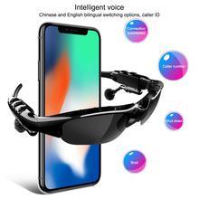 Smart Bluetooth 5.0 Headset Wireless Polarized Bluetooth Sunglasses Sports Driving Bluetooth Glasses