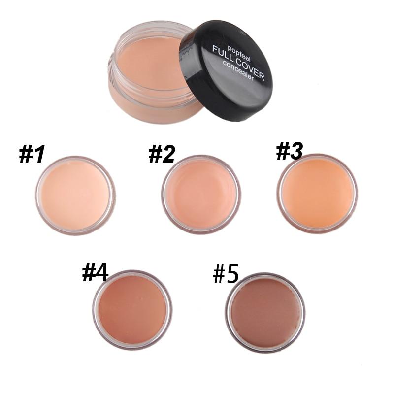 Marca imprimación de maquillaje de Control de aceite cubierta poro arruga la cara corrector de brillo cosmético de cuidado facial Fundación contorno de la base de paleta