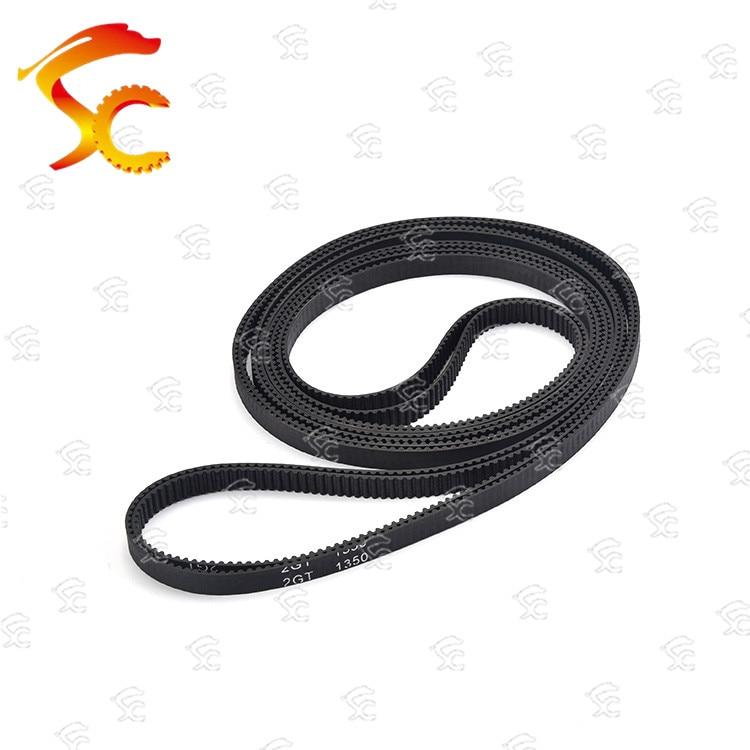 Cinto 1pcs 2GT-1350 closed loop borracha 2GT-1350-6mm/10mm de Comprimento 1350 milímetros de largura correia dentada 675 Dentes 6mm para 3D impressora