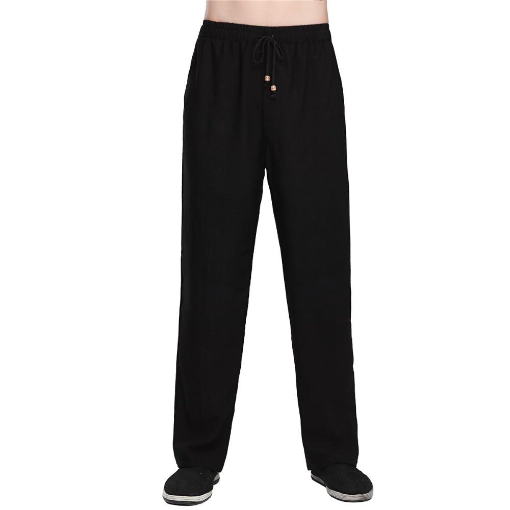Shanghai Story китайская мужская одежда летние китайские штаны для кунг фу штаны для мужчин традиционная китайская одежда|Штаны| | АлиЭкспресс
