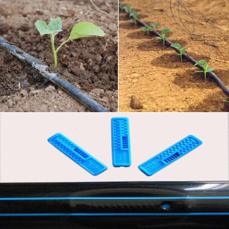 NuoNuoWell, sistema de riego con correa de goteo para jardín, 16MM, manguera de sombreado plano, Kit de riego para jardín agrícola