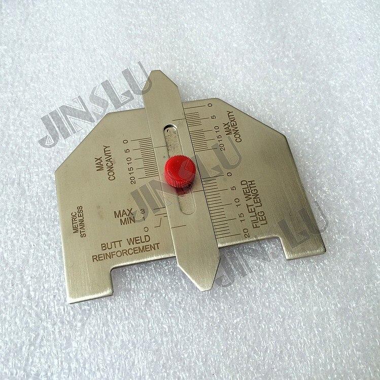 dardanel tone fillet 125 g free shipping Free Shipping Welding Measure tool welding gauge , Fillet welding gauge HG008