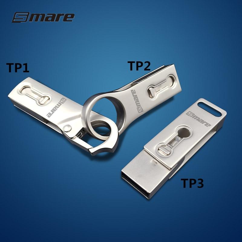 Smare Type-C OTG USB 3.0 Flash Drive 32GB 16GB 64GB Pen Drive Smart Phone Memory Mini USB Stick Type - C 3.1 Dual Double Plug