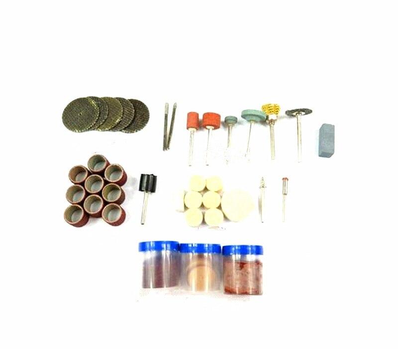 Dremel Accesorios 105 unids/set Accesorios Dremel herramientas Kits de Accesorios