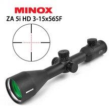 MINOX HD ZA5I 3-15X56 SF Tactical optyczny luneta czerwony Mil Dot FFP Sight dla polowanie karabin zakres Sniper zakres