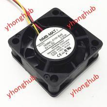 NMB-MAT 1606KL-01W-B49 L50 DC 5V 0,21 A 40x40x15mm 3-draht Server Lüfter