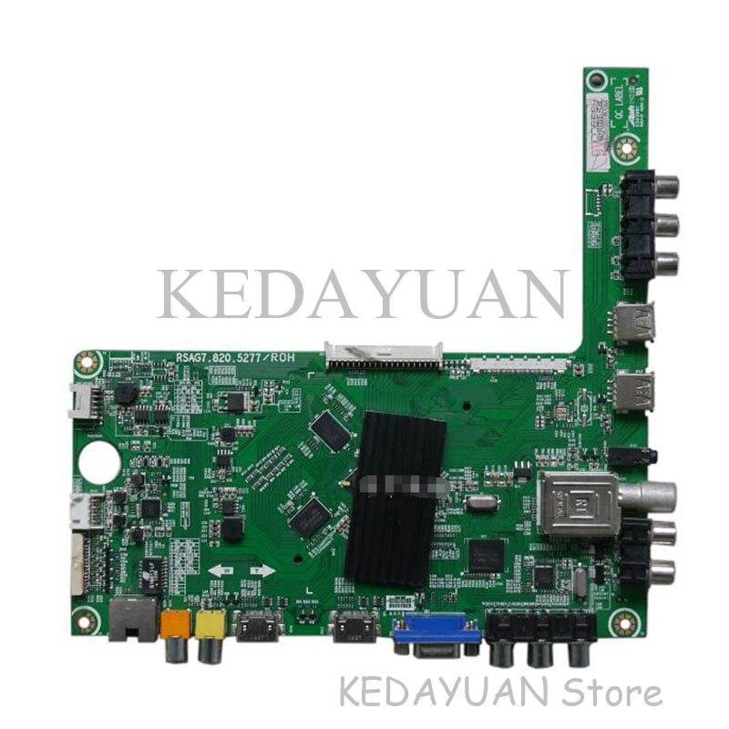 Prueba de 100% original de envío gratis para hisense LED50EC310J0(BOM1)167233 placa base RSAG7.820.5277 pantalla HE500HF