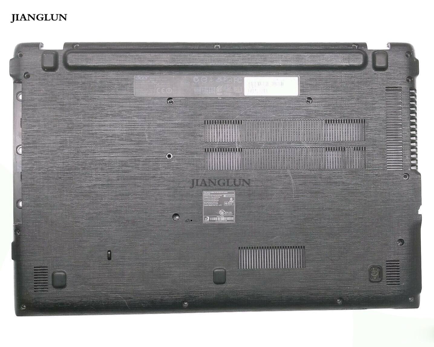 JIANGLUN Nieuwe Voor Acer E5-573 Laptop Lagere Bodem Case zonder Luidsprekers