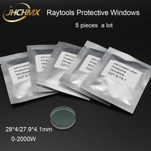 JHCHMX Raytools Laser In Fibra di Protezione Lens/Vetro 1064nm 28*4/27.9*4.1 millimetri Per 0- macchina di Taglio Laser In Fibra 2000W Raytools Bodor