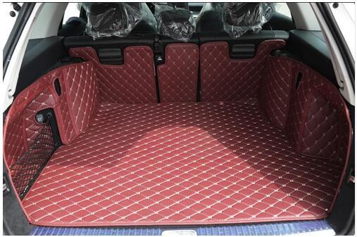 ¡De alta calidad! Coche especial esteras para maletero para Mercedes-Benz Clase C S205 Wagon 2019-2014 impermeable alfombrillas de revestimiento de maletero de alfombras