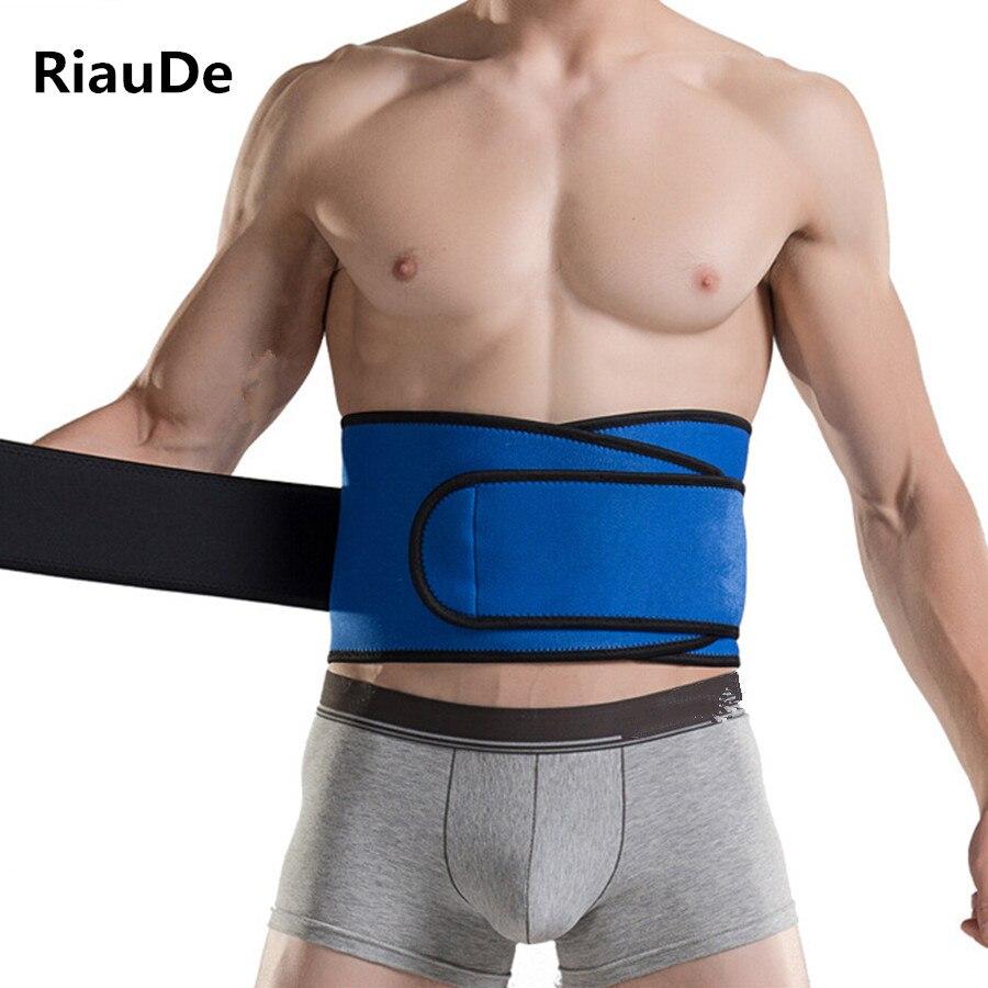Cinturón moldeador de cuerpo para hombre, faja de cintura de entrenamiento alta elástica, faja de modelado adelgazante, soporte de cintura para abdomen, cinturón recortador de cintura RiauDe