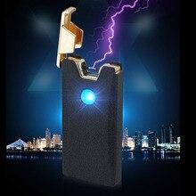 Allume-cigare électrique USB sans flamme   Rechargeable, coupe-vent, accessoire pour tuyau de tabac pulseur