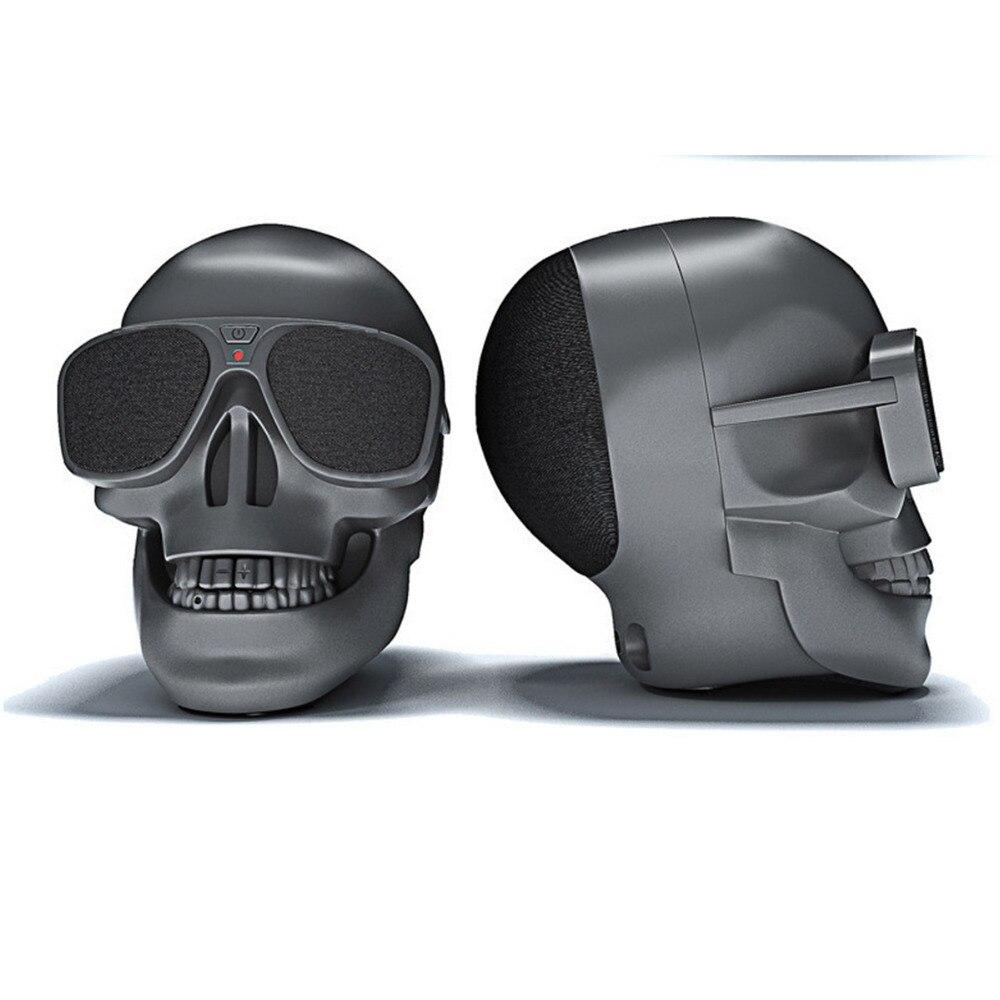 Música Radio Bluetooth Mini altavoz para danza gafas de sol inalámbrico bocina de calavera Subwoofer móvil multipropósito altavoz portátil Cool