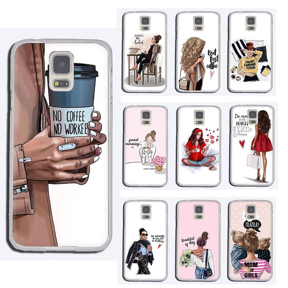 Жесткий чехол для Samsung Galaxy M30 M20 M10 S10 S8 S9 Plus S6 S7 Edge NOTE 10 8 9