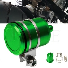 Motorbike Cylinder Reservoir Cover Motorcycle Tank Fluid Oil Cup For KAWASAKI ZX6R ZX636R NINJA 250 ZXR250 ZXR400 ZZR400 ZZR600