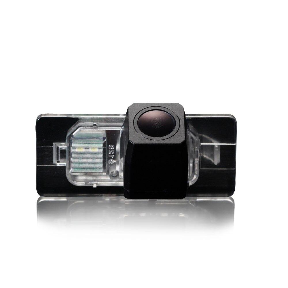 HD 1280*720 píxeles 1000TV línea para Audi A1 Q3 A4L TT A5 Q5 A7 R8 A6 S6 S7 vista trasera de coche a cámara de estacionamiento marcha atrás impermeable