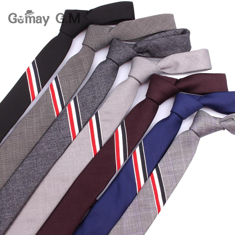 5cm Width Mens Ties Bowties New Fashion Solid Neckties Corbatas Gravata Slim Suits Tie Neck Tie and Bowtie Sets For Men