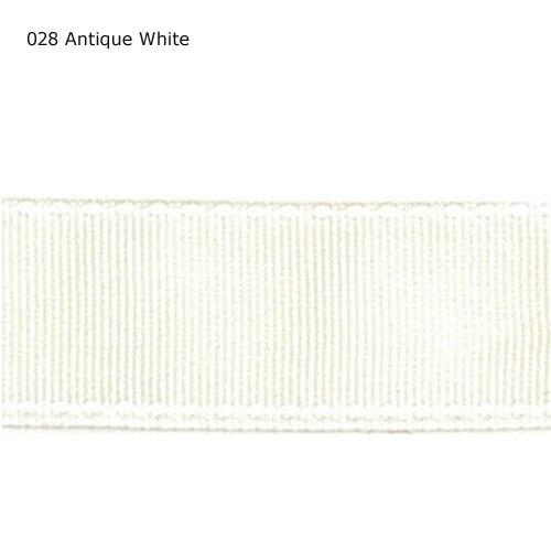 """1 """"pulgadas 25mm cinta de punto de cruz blanca antigua"""