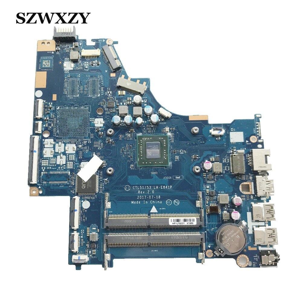 Para placa base de ordenador portátil HP PAVILION 15-BW con procesador de A9-9420 CTL51/53 LA-E841P DDR4 no reparado