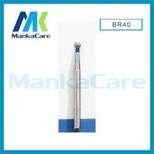 MKBR40-Dental Diamond Burs Set For Porcelain Shouldered Abutment Polishing/High quality Speed handpiece burs/Wear-resistant/Lab