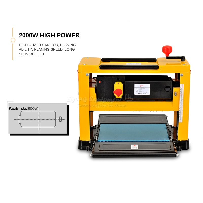 Multifunctional high-power high-accuracy Table polishing woodworking thicknesser BD-12155 Wood sander Q10097 enlarge