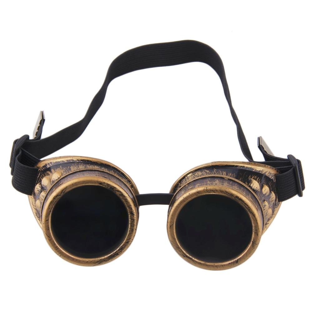 ¡Moda 2019! Gafas Retro Steampunk Cyber Goggles gafas Steampunk gafas Vintage Retro soldadura Punk gafas de sol góticas