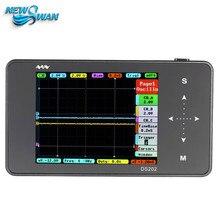 Ds202 미니 디지털 오실로스코프 2 채널 오실로스코프 usb 인터페이스 풀 컬러 tft 디스플레이 8 mb 메모리 저장 장치 1 mhz 10msa/s