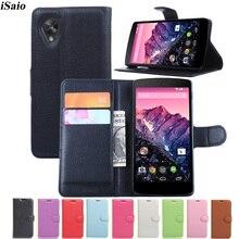 Portefeuille étui pour lg Google Nexus 5 E980 D820 D821 Housse En Cuir étui pour lg Nexus5 coque de téléphone Fundas Carte Sim Fente Supports
