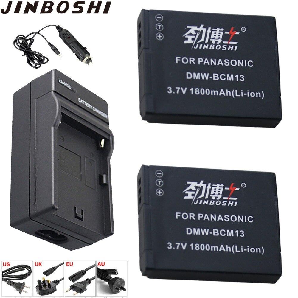 2X DMW-BCM13E DMW BCM13 BCM13E batería + única cargador para Panasonic Lumix DMC-TZ60 DMC-ZS27 DMC-ZS30 DMC-ZS35 DMC-ZS40 FT5 LZ4