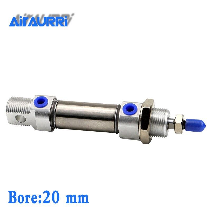 C85N Tipo SMC cilindro CD85N C85N 20-25-50-75-100-125-150-175-200-250-300 Mini cilindro neumático de doble efecto CD85N20-80 CD85N