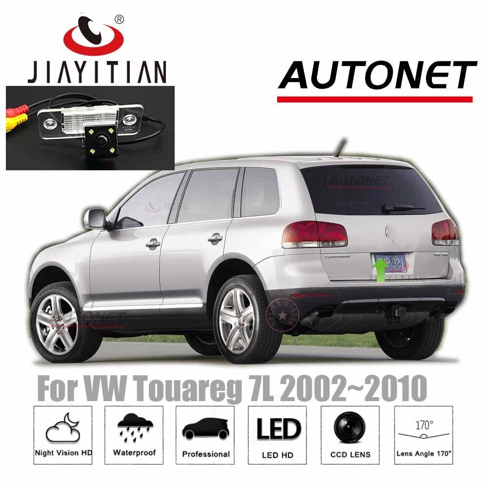 JIAYITIAN-caméra pour vw Touareg 7L   2002 2003 2004 2005 2006 2007 2008 HD CCD, caméra de protection nocturne inversée, caméra de sauvegarde