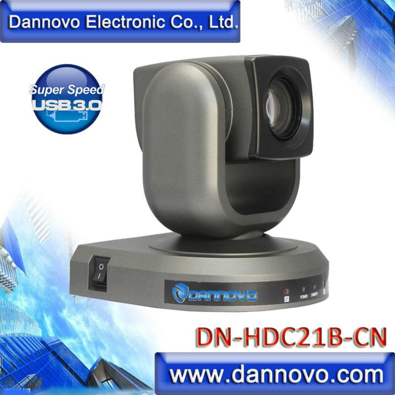 DANNOVO USB 3.0 1080P 720P HD PTZ كاميرا لمايكروسوفت Lync ، 20X زووم بصري ، دعم فيسكا و بيلكو-D