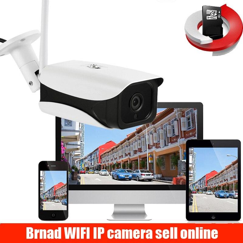 Cámara IP HD 1080P inalámbrica para exteriores, videocámara bala impermeable con visión...