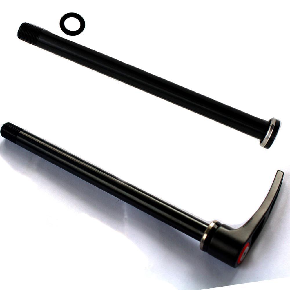 Boost 12x148 brochetas traseras de eje pasante bicicletas MTB QR 12mm aleación a través del eje Longitud total 171 Paso de rosca 1,0mm cabeza plana