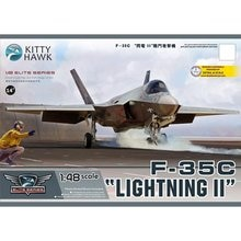 """Kitty Hawk KH80132 1/48 F-35C """"Lightning II"""" - Scale Model Kit"""