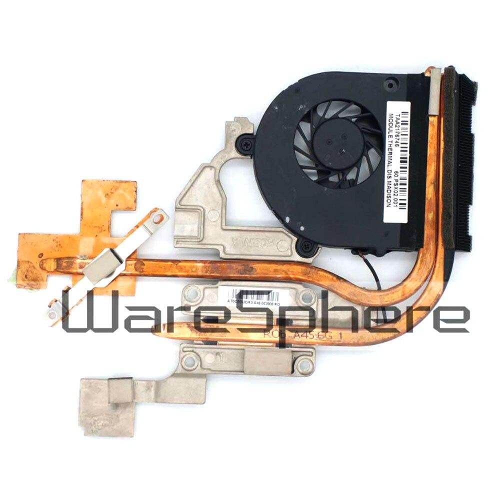 Nuevo radiador original 0 para Acer Aspire 5741 5741g 5742 5742g 5551 5552 CPU disipador térmico y ventilador de refrigeración 60PSX02001 AT0C9002DR0