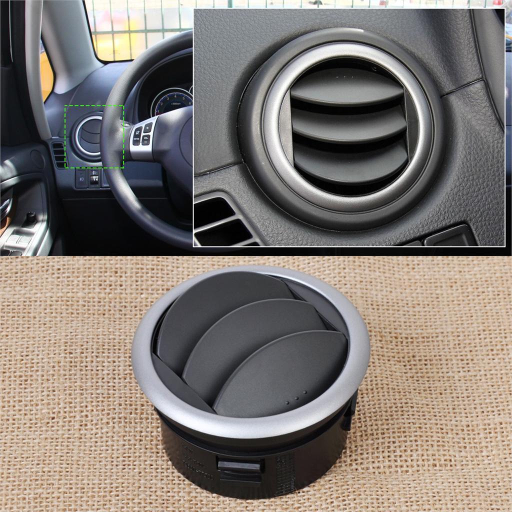 DWCX del tablero de instrumentos del coche de aire acondicionado Deflector salida de ventilación laterales para Suzuki SX4 Swift 2005, 2006, 2007, 2008, 2009, 2010, 2011, 2012, 2013