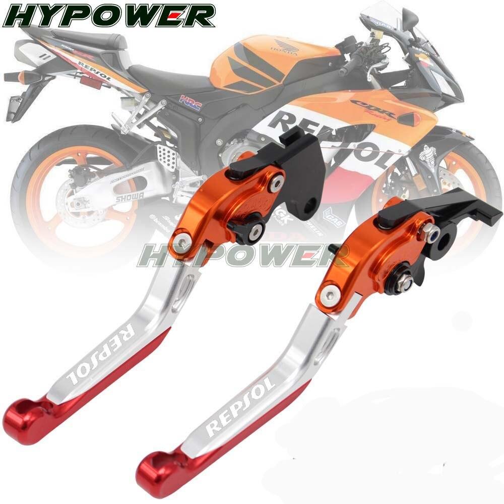 Embrayage accessoires de moto   Pour Honda CBR600RR 2003-2006, accessoires de moto, frein pliable réglable, leviers CBR 600RR CBR 600 RR