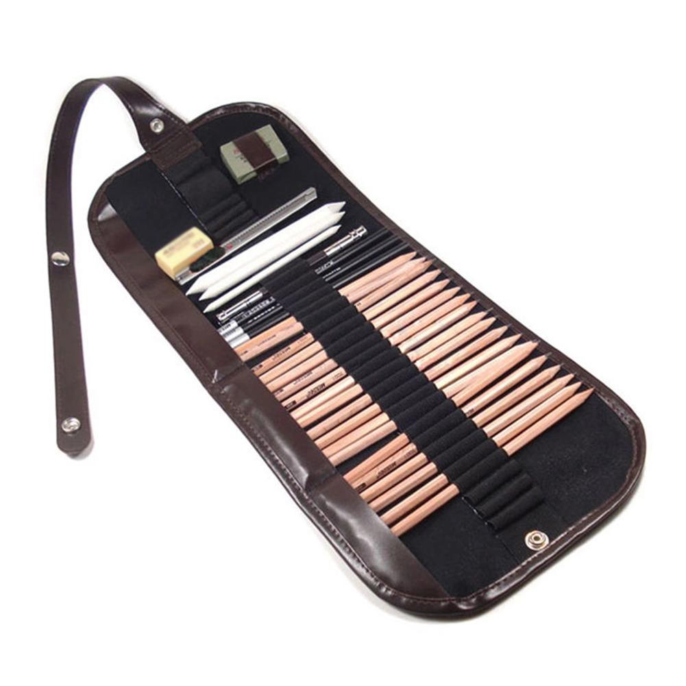 Набор карандашей для рисования 29 шт. расширитель угольного угля ластик резак