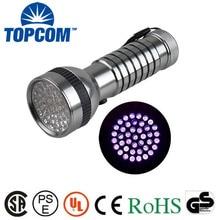 41 LED professionnel UV Inspection lampe de poche 380nm spectre Ultraviolet 380 ~ 385 nm super uv