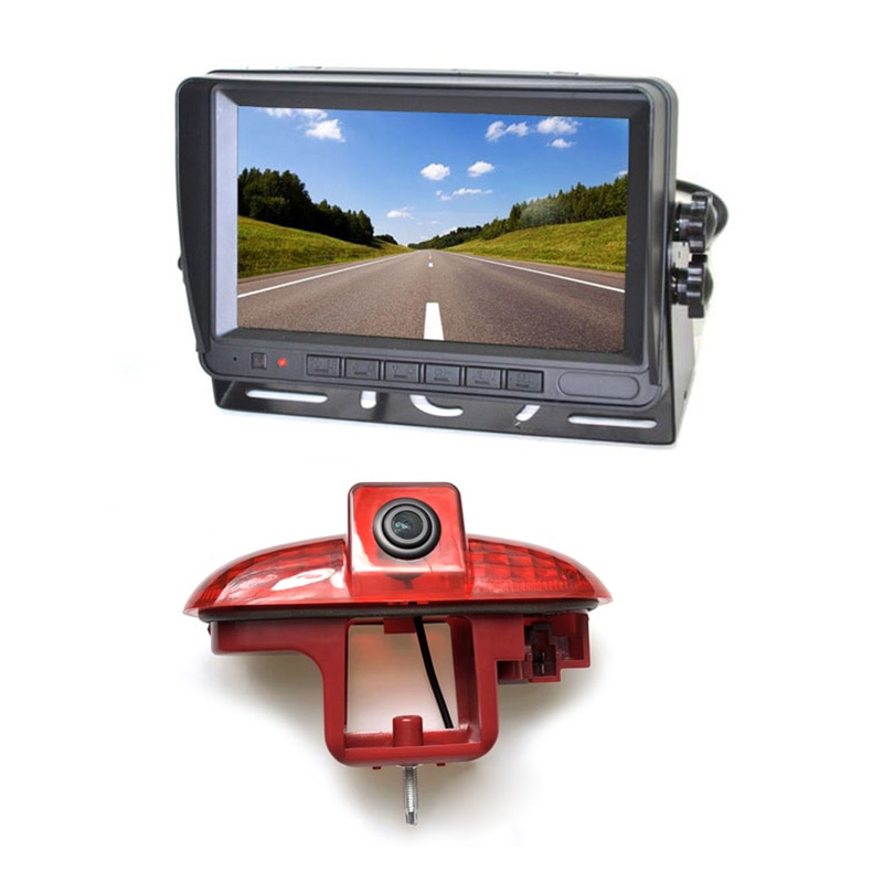 Vardsafe VS811M, luz de freno, cámara trasera de visión trasera + Monitor para Renault Trafic / Vauxhall Vivaro / Opel Combo (2001-2014)