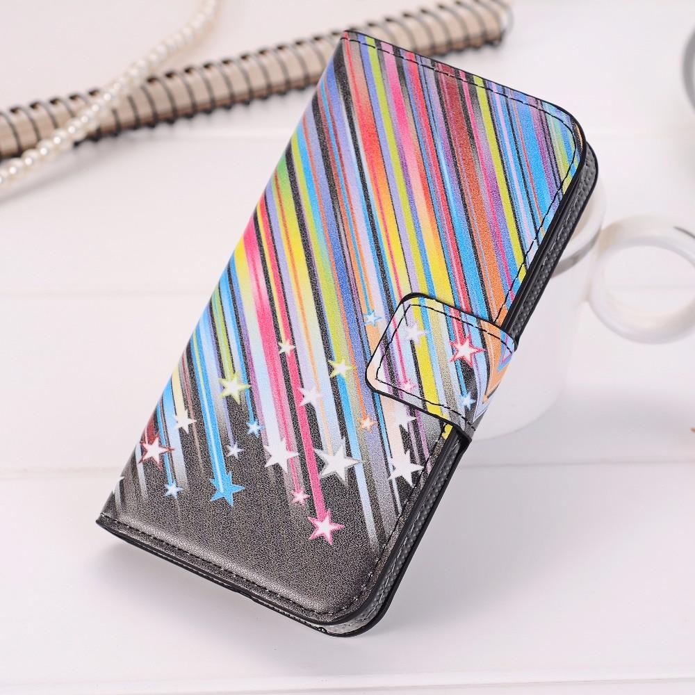 Lucky Star Leather Flip Cover Case For Samsung Galaxy S3 S4 S5 Mini S6 S7 Edge Grand Neo Plus Core Prime A3 A5 J1 J5 2016 Case