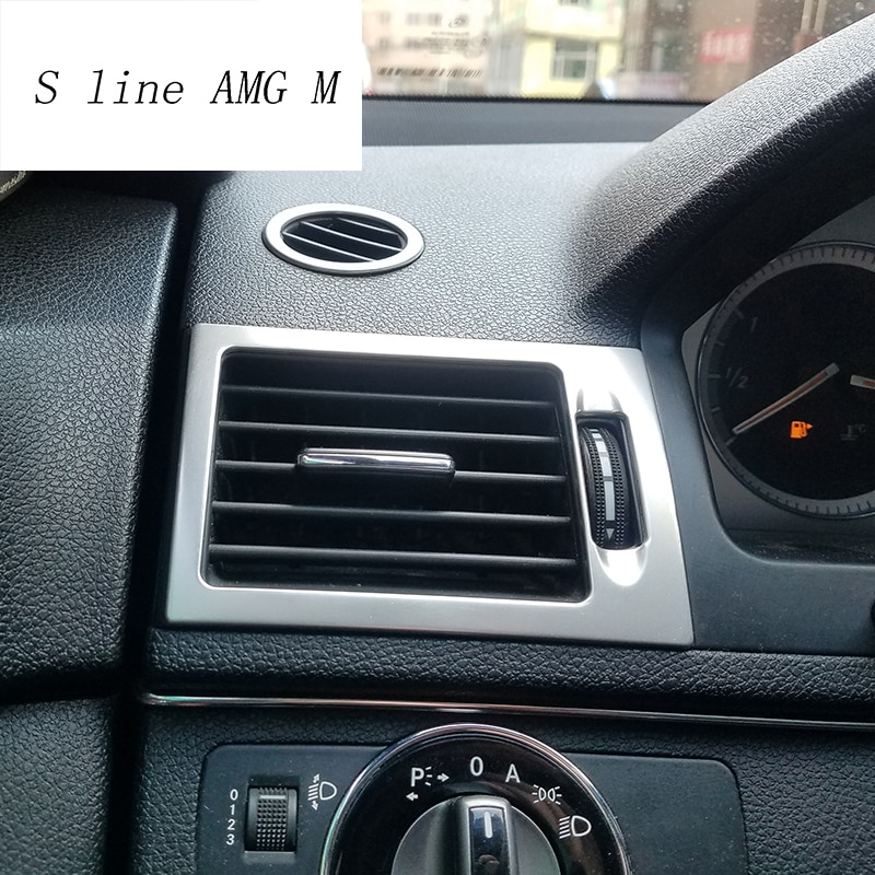 Molduras de marcos de salida de aire delantera de CA para coche,...
