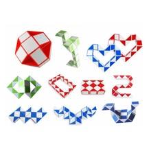 4/2/1 pièces ensemble Cool serpent magique variété populaire torsion enfants jeu Transformable cadeau Puzzle haute qualité jouets créatifs pour les enfants