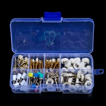 80 pièces/boîte brosse de polissage Prophy dentaire tasse alumine Nylon coton laine feutre roue nouveau