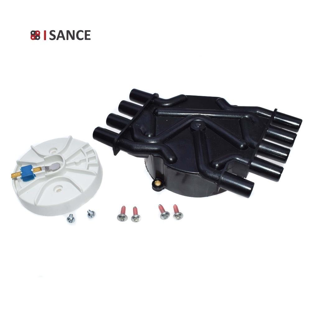 ISANCE Distributor Cap D329A Rotor D465 10452457 10452459 For Cadillac GMC Chevrolet Blazer C1500 C3500 Express G10 G1500 G20