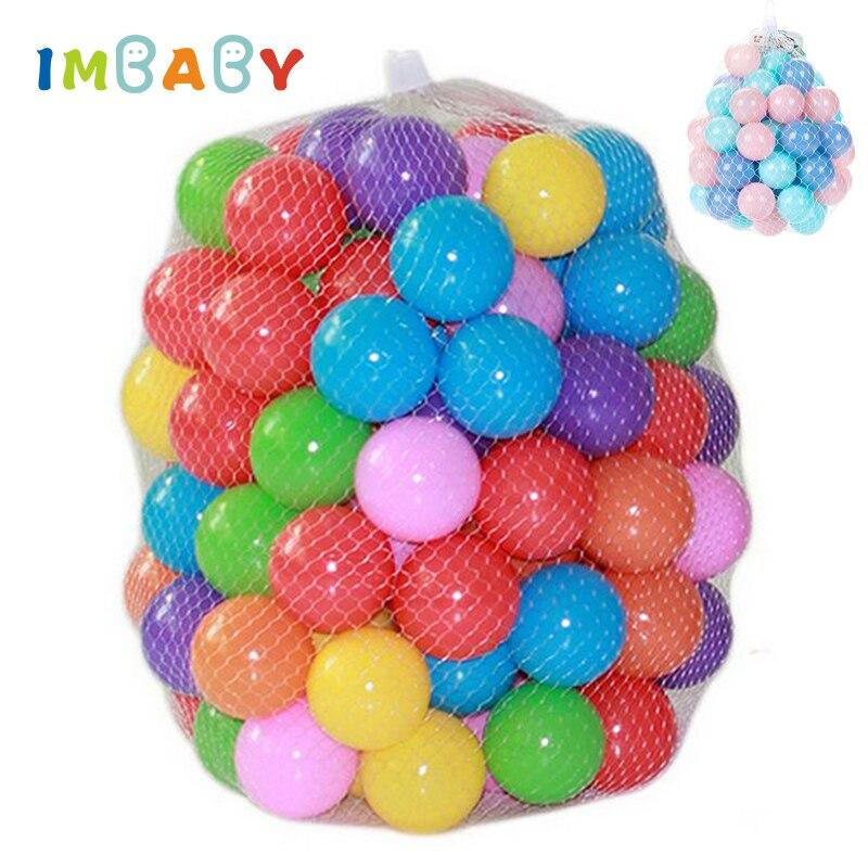 Шарики для бассейна, 100/200 шт, 5,5/7 см, мягкие пластиковые шарики для игры в бассейн, цветные мягкие шарики для снятия стресса, жонглирующие шарики, сенсорные детские игрушки