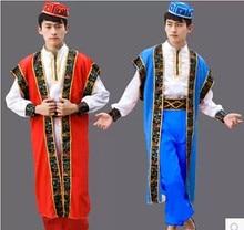 Hommes caftan Thobe vêtements Islam vêtements vêtements musulman homme robe islamique hommes robes danse scène performance vêtements